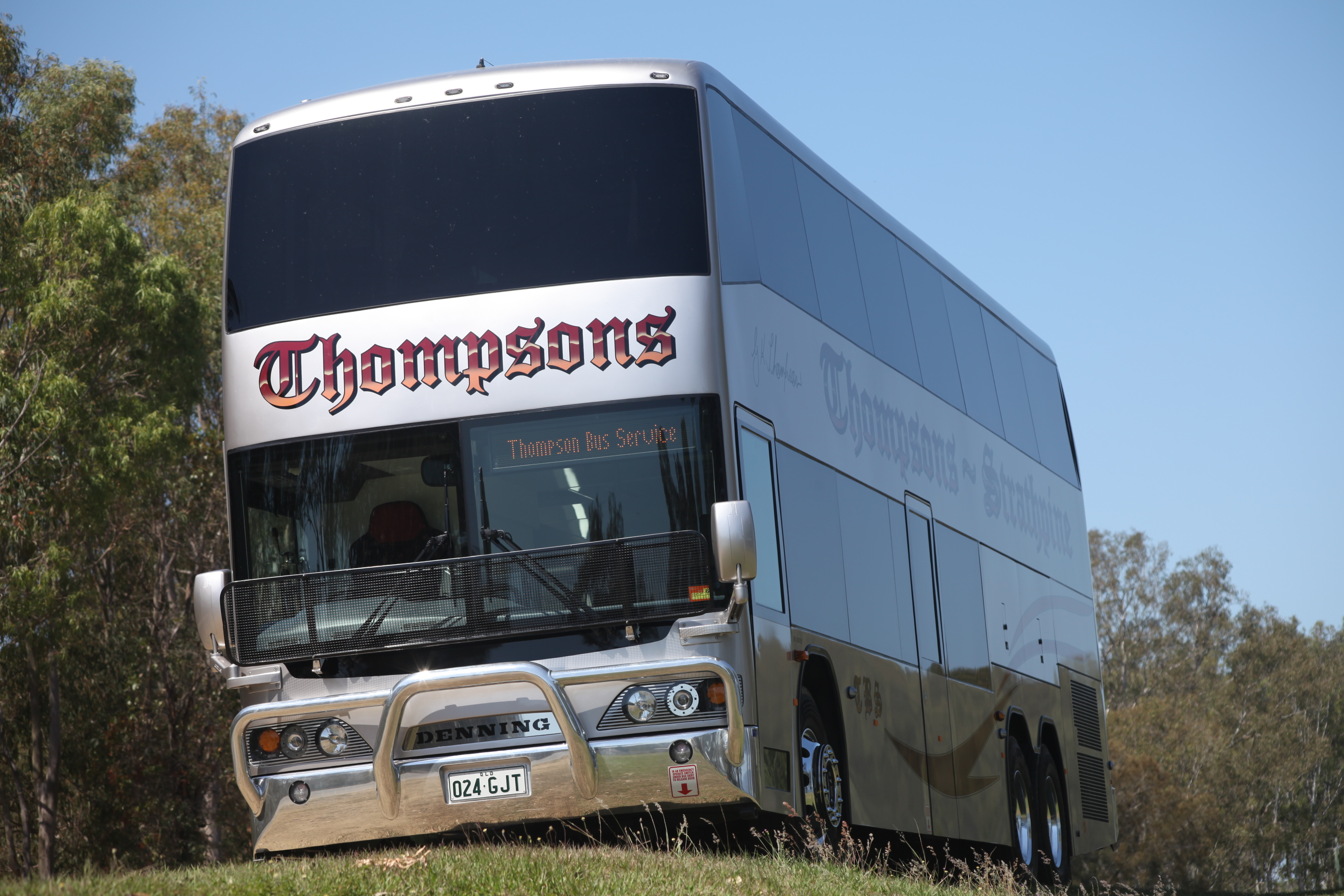 Denning double decker for sale - Cummins Powered Denning Double Decker Is Impressing At Thompsons