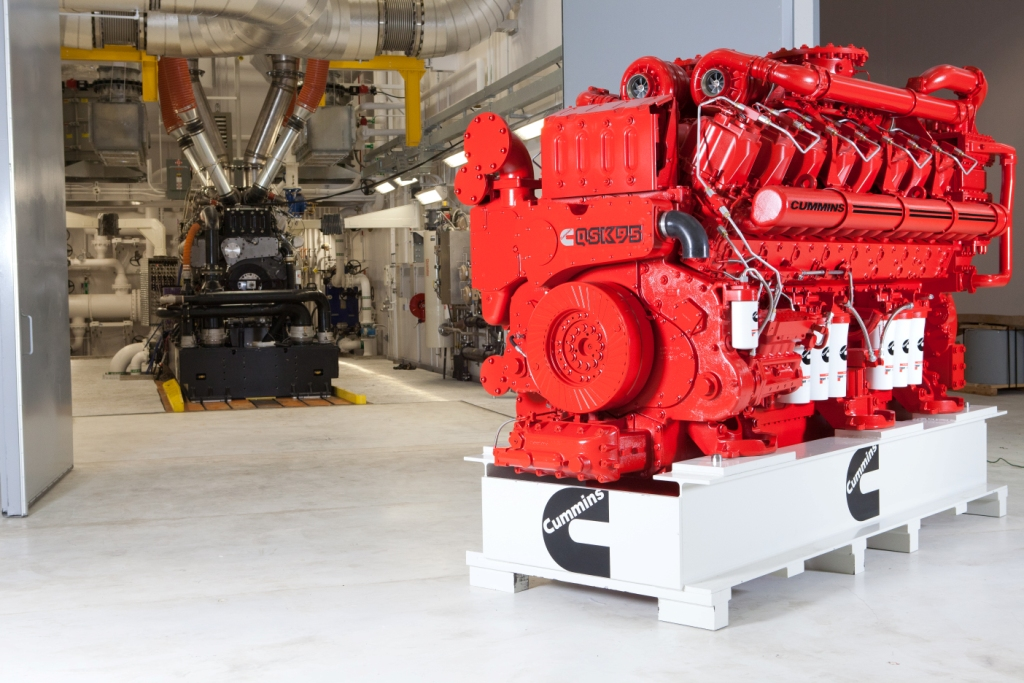 Natural Gas Powered Diesel Engines