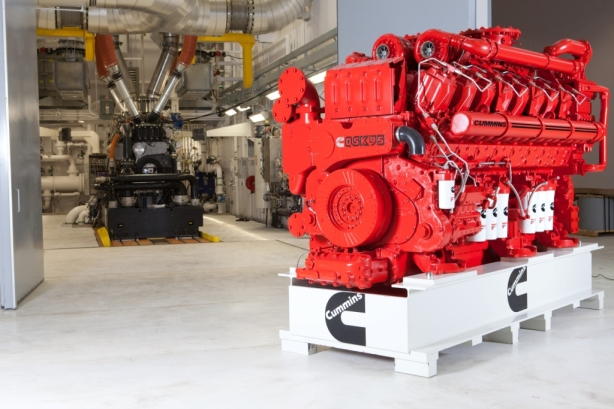 With an output of over 4000 hp, the QSK95 is the highest horsepower engine ever developed by Cummins. It will eventually become available for a range of high-hour, high-load applications such as mine trucks and excavators, oil and gas drilling modules, locomotives and marine vessels.