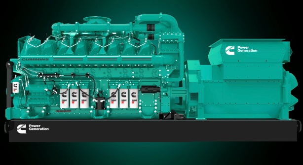 The C3000-series marks the start of a new line of diesel and gas generator sets from Cummins.